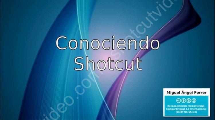 Curso de ShotCut Video
