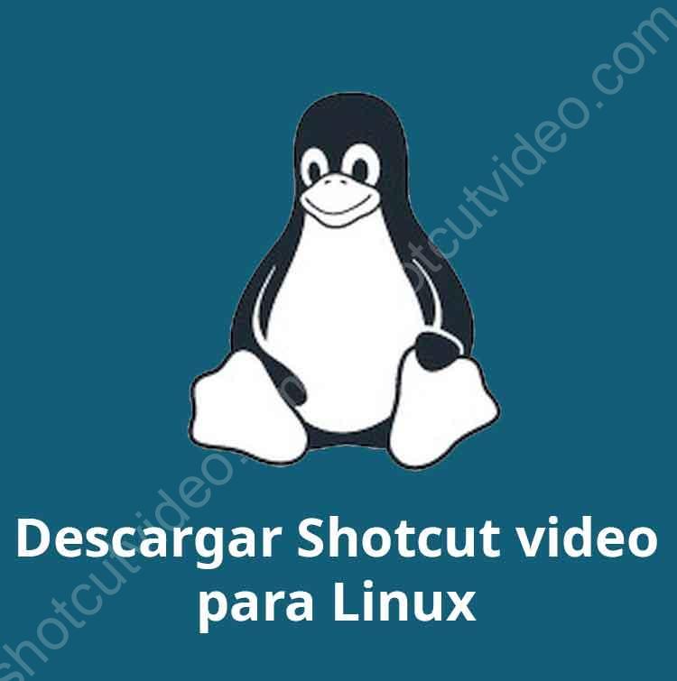 Descargar shotcut para Linux