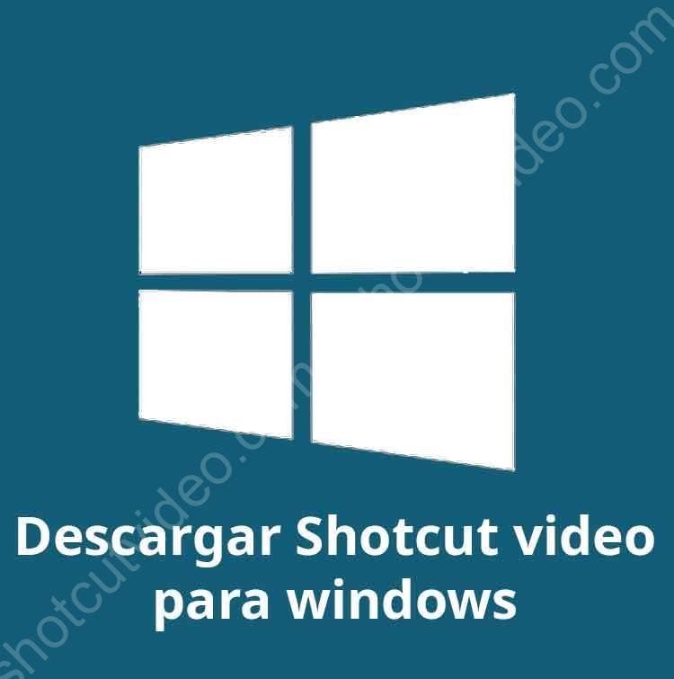 Descargar shotcut para windows