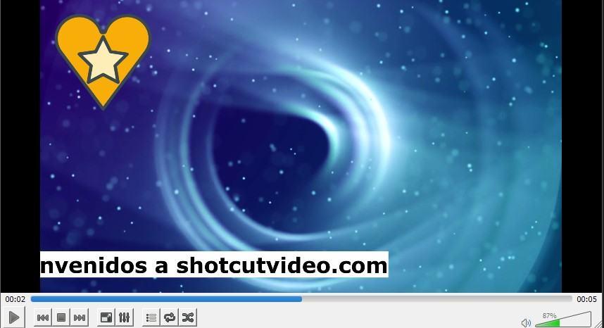 Tutorial sobre cómo crear texto en movimiento en ShotCut vídeo